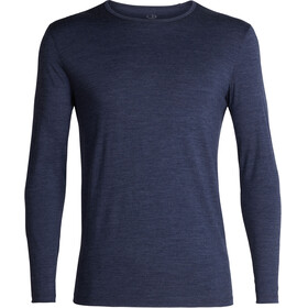 Icebreaker 200 Tech LS Crew Shirt Men Fathom Heather